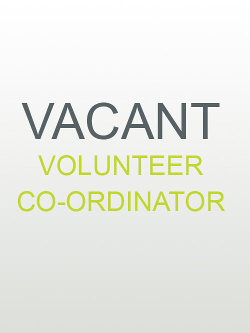 VOLUNTEER CO-ORDINATOR